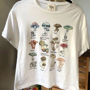 Mushroom crop top